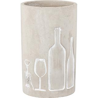 Sceau à vin en ciment
