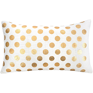 Coussin rectangulaire Polka