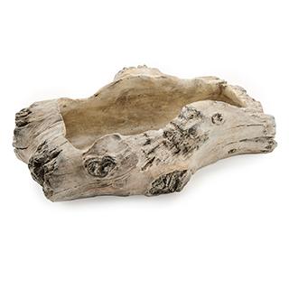 Plat en ciment 11po imitation bois