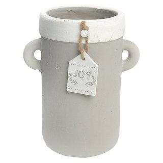 Vase décoratif en ciment - petit