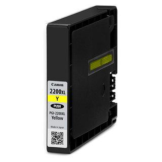 Cartouche d'encre PGI-2200 pour imprimante à jet d'encre-Jaune