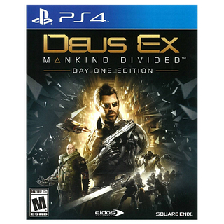 Jeu Deus Ex: Manking divided day one PS4