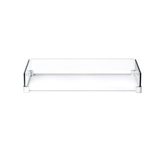 Déflecteur en verre pour table patioflamme