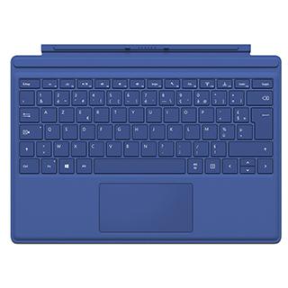 Clavier-couvert pour tablette Surface 4 Pro