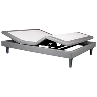 Lit articulé ajustable grand lit