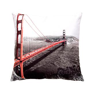 Coussin carré Pont de San Francisco