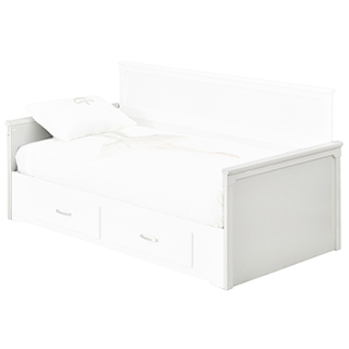 Pied de lit Simple