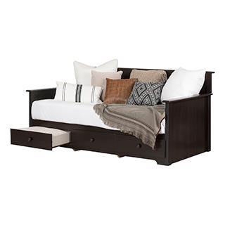 Lit divan avec rangement