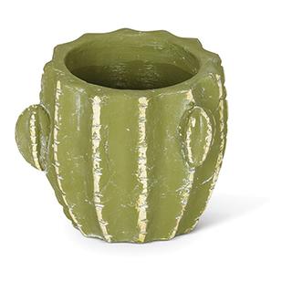 Cache-pot en forme de cactus en terracotta - petit