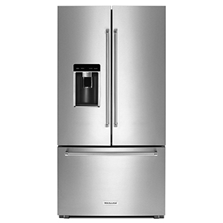 Réfrigérateur à double porte 23.8 pi.cu.