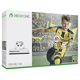 Console XBox One S 500Go Fifa 2017