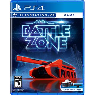 Jeu Battlezone pour PS4VR