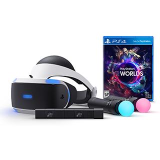 PlayStation VR - lunette virtuelle, caméra, manettes, 1 jeu