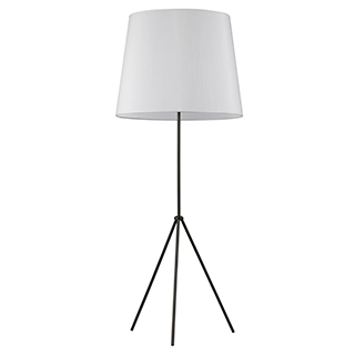 Lampe de plancher sur trépied