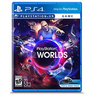 Jeu Worlds pour PS4VR