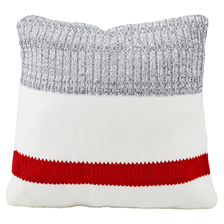 Coussin carré bas de laine collection chalet chic
