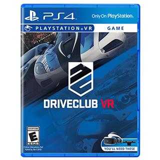 Jeu DriveClub pour PS4VR