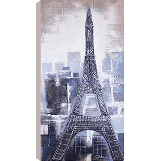 Toile Bleu Eiffel