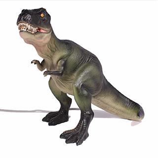 Lampe de chevet Tyrannosaure Rex en polyrésine