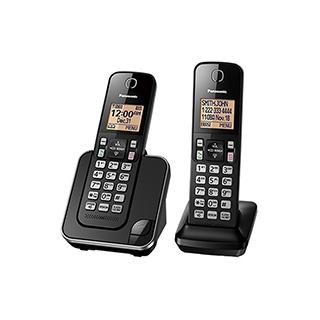 2 téléphones sans fil avec afficheur, mode mains libres