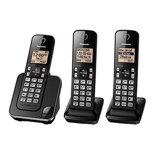 3 téléphones sans fil avec afficheur, mode mains libres
