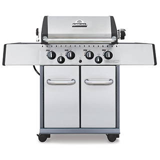 Barbecue Sterling 40000BTU avec réchaud 10000BTU