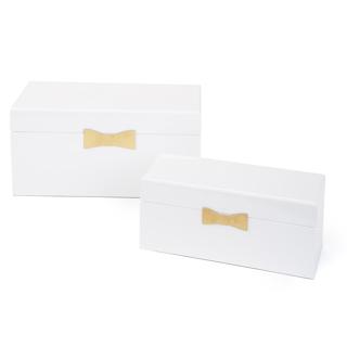 2 boîtes décoratives