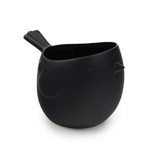 Vase décoratif Toluca noir