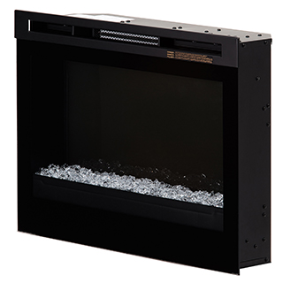 Boîte de foyer électrique à cristaux