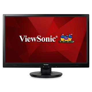 Écran d'ordinateur VA2446M-LED de 24 po avec entrée(s) vga, dvi