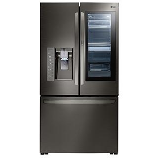 Réfrigérateur à double porte 23.5 pi.cu.