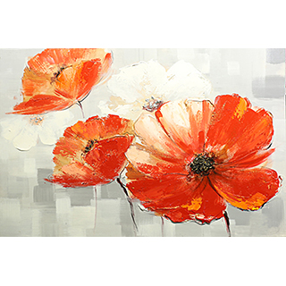 Toile fleur