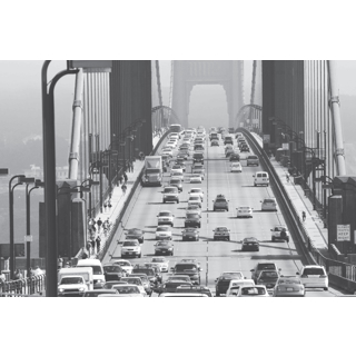 Murale autocollante Pont de NY 12x8pi