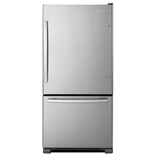 Réfrigérateur 22 pi.cu. congélateur en bas