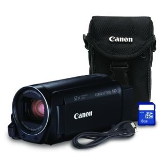 Caméscope 1080HD zoom 32x avec étui carte SDHC de 8 Go