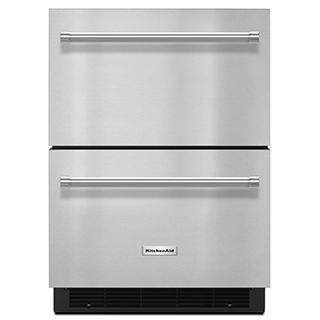 Réfrigérateur/tiroir congélateur de 24po