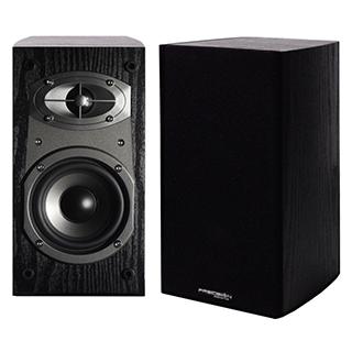 Paire de haut-parleurs d'étagère 2 voies 100w HD4M