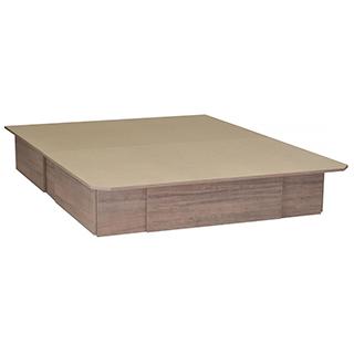 Lit plateforme Grand lit avec 4 tiroirs