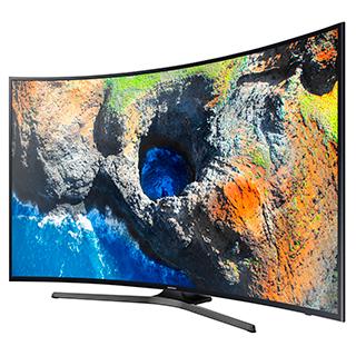 Téléviseur DEL courbé Smart TV écran 49 po