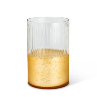 Bougeoir Tempête en verre 8 po de haut