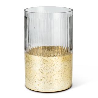 Bougeoir Tempête en verre 10 po de haut