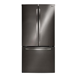Réfrigérateur à double porte 23,6 pi.cu.