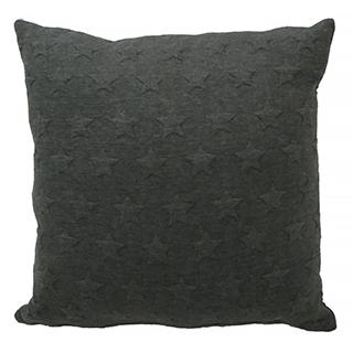 Coussin étoiles - charcoal