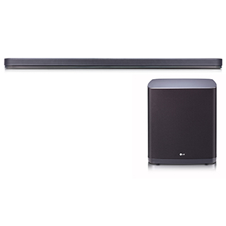 Barre sonore 500W Dolby Atmos Wi-Fi Bluetooth avec caisson