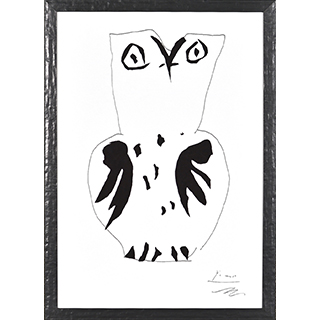 Cadre Hibou (Picasso) 12x18po