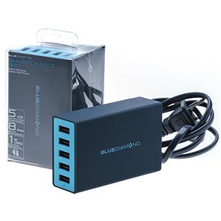 Chargeur SmartCharge Pro avec 5 prises USB