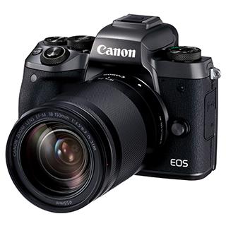 Caméra EOS M5 18-150mm 24,2MP vidéo 1080p Wi-Fi Bluetooth
