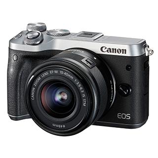 Caméra EOS M6 15-45mm 24,2MP vidéo 1080P Wi-Fi Bluetooth