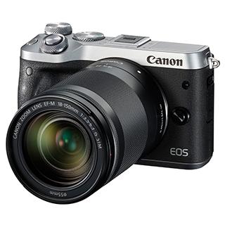 Caméra EOS M6 18-150mm 24,2MP vidéo 1080P Wi-Fi Bluetooth