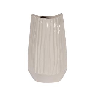 Vase décoratif - ivoire laqué